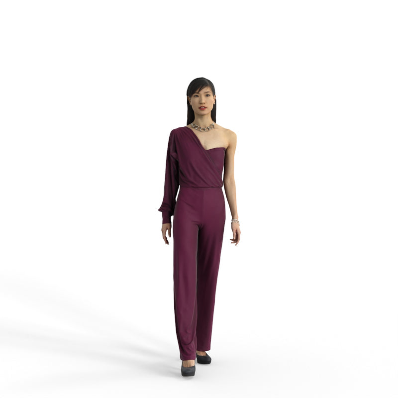 Elegant Woman | ewom0322hd2o01p01s | Ready-Posed 3D Human Model (Woman / Still)