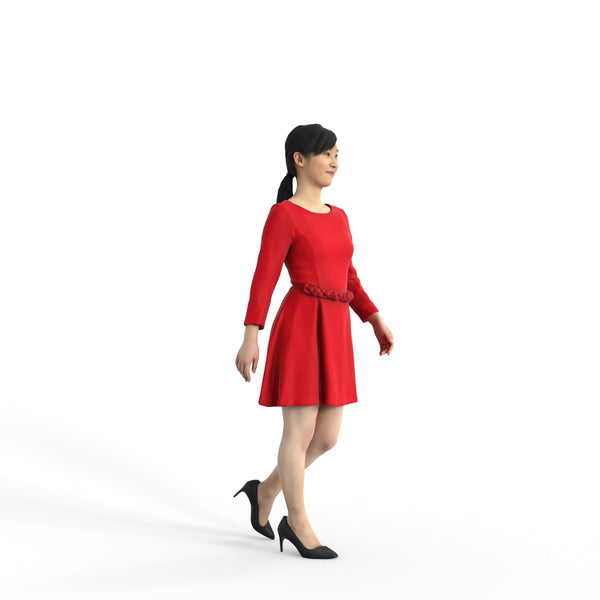 Elegant Woman | ewom0323hd2o01p01s | Ready-Posed 3D Human Model (Woman / Still)