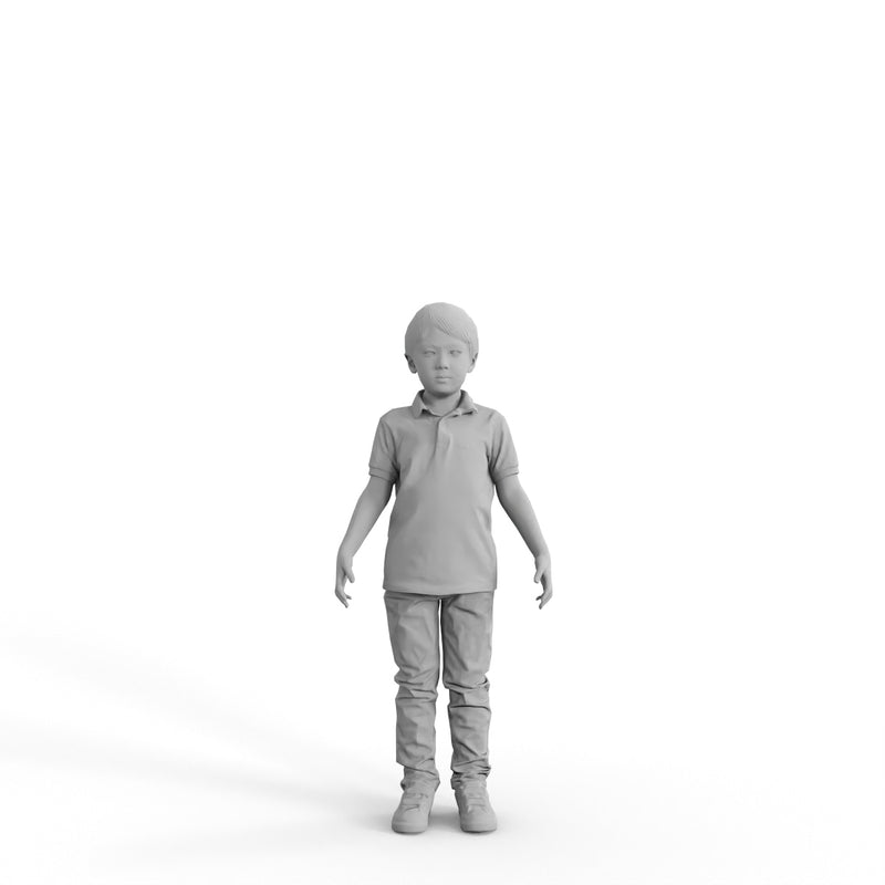 High Quality Rigged 3D Casual Boy |  cboy0299m4 | 3DS MAX Human