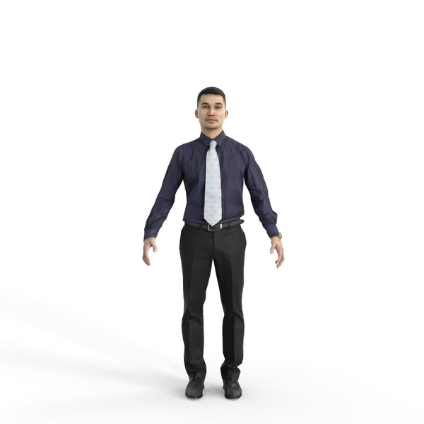 High Quality Rigged 3D Business Man | bman0322m4 | 3DS MAX Human