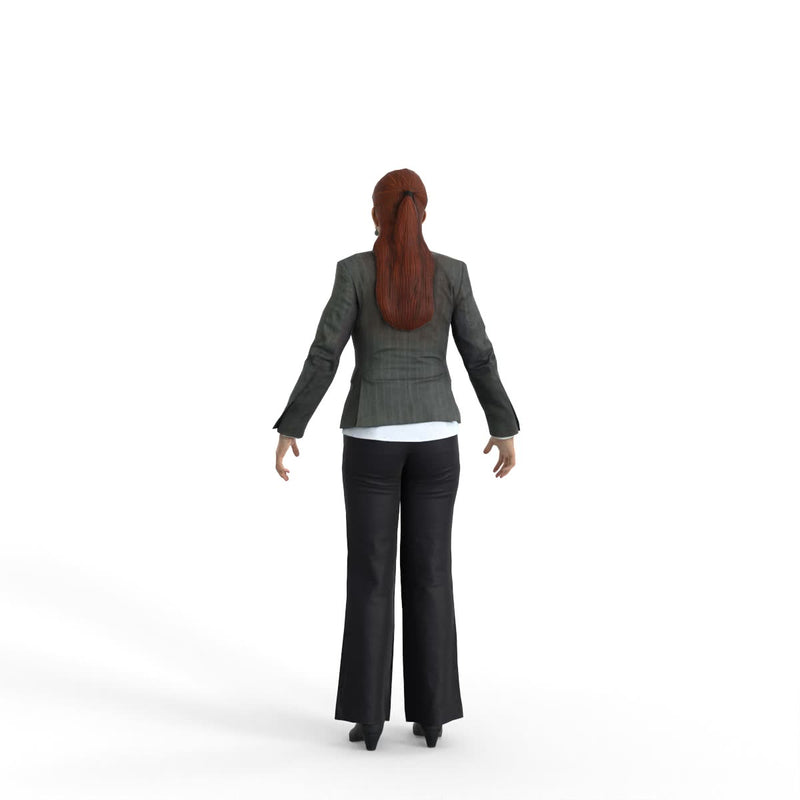 High Quality Rigged 3D Business Woman | bwom0329m4 | 3DS MAX Human