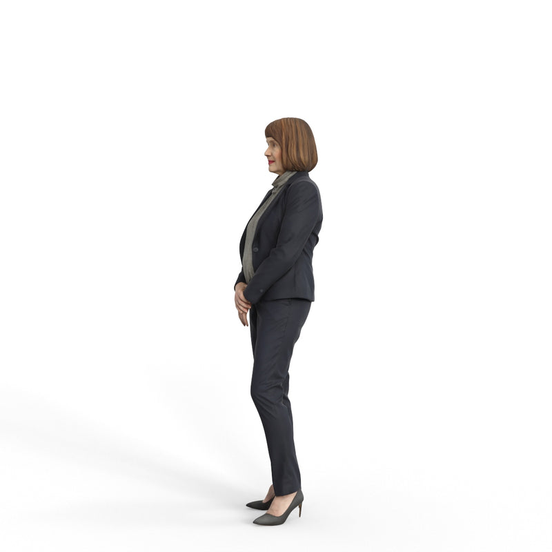 Business Woman | grp0003hd2o01p01s | Ready-Posed 3D Human Model (Woman / Still)