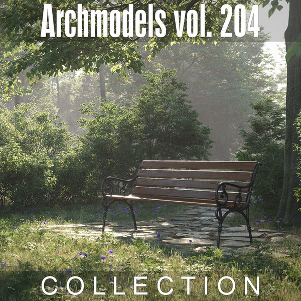 Archmodels vol. 204 (Evermotion 3D Models) - Architectural Visualizations