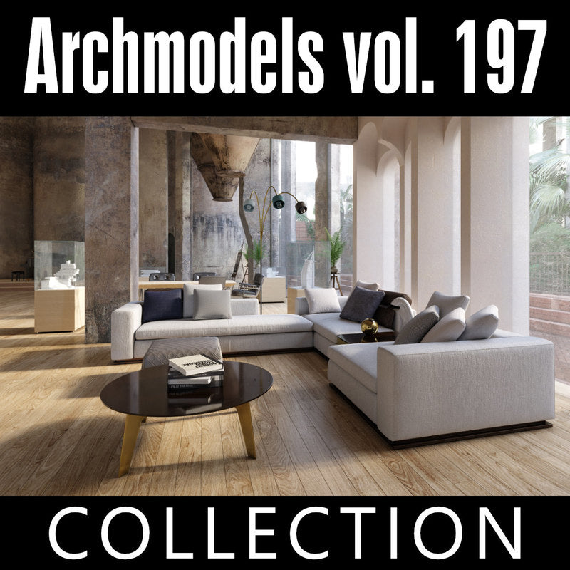 Archmodels vol. 197 (Evermotion 3D Models) - Architectural Visualizations