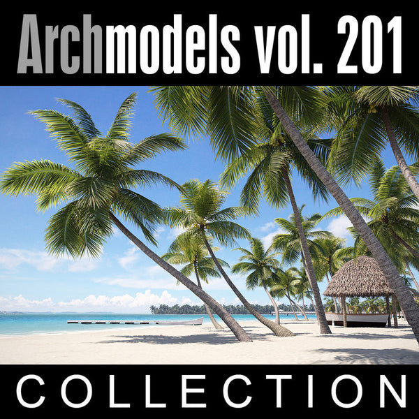 Archmodels vol. 201 (Evermotion 3D Models) - Architectural Visualizations