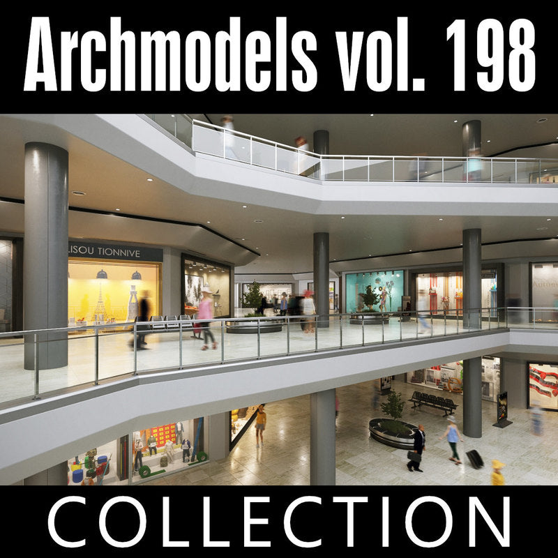 Archmodels vol. 198 (Evermotion 3D Models) - Architectural Visualizations