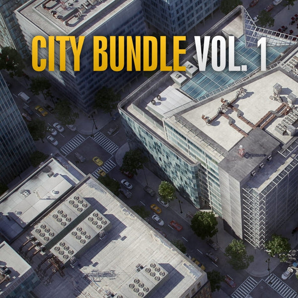 Archmodels City Bundle vol. 1 (Evermotion 3D Models) - Architectural Visualizations