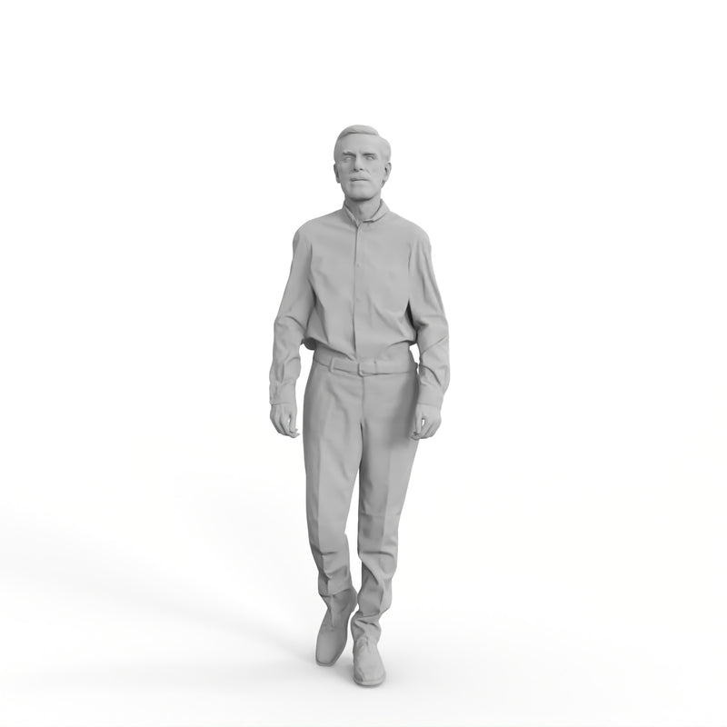 High Quality Rigged 3D Casual Man | grman0004m4 | Rigged 3D Human