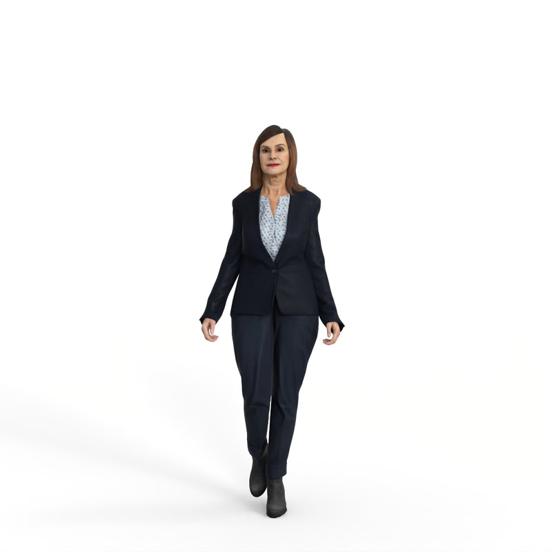 High Quality Rigged 3D Business Woman | grwom0004m4 | Rigged 3D Human