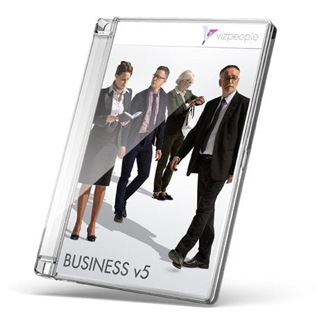 Business V5 - 2D Cut Out People