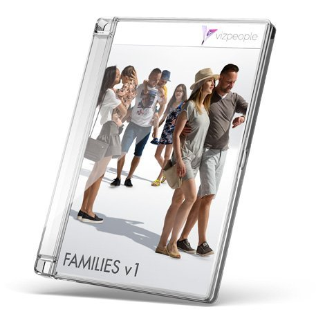 Families V1 - 2D Cut Out People