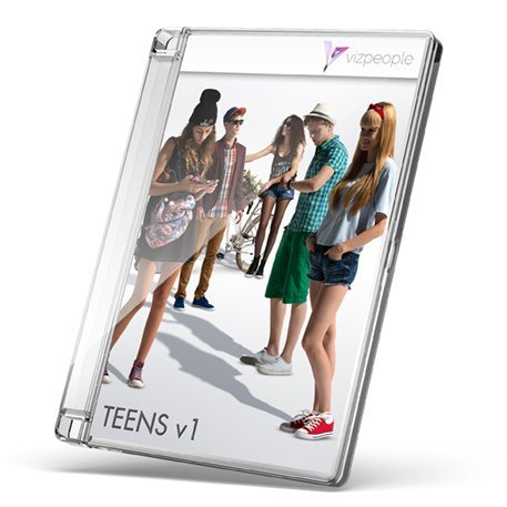 Teens V1 - 2D Cut Out People