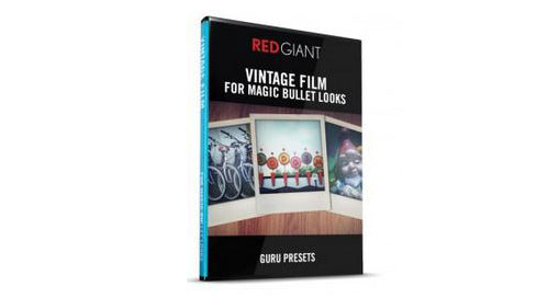 Red Giant Nick Campbell's Vintage Film for Looks