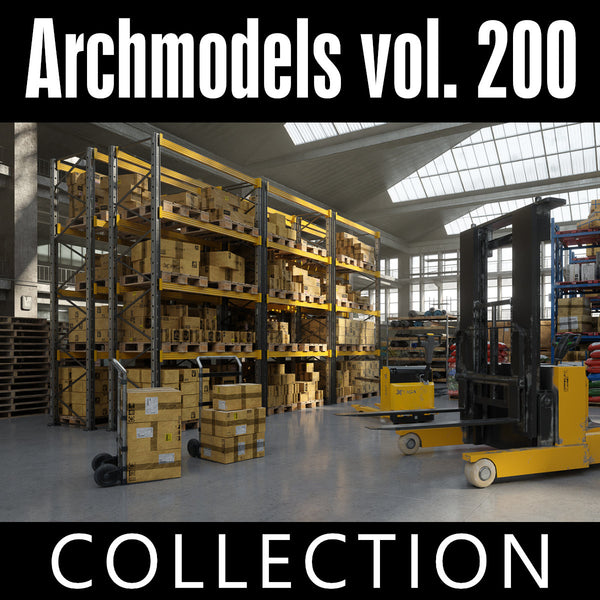 Archmodels vol. 200 (Evermotion 3D Models) - Architectural Visualizations