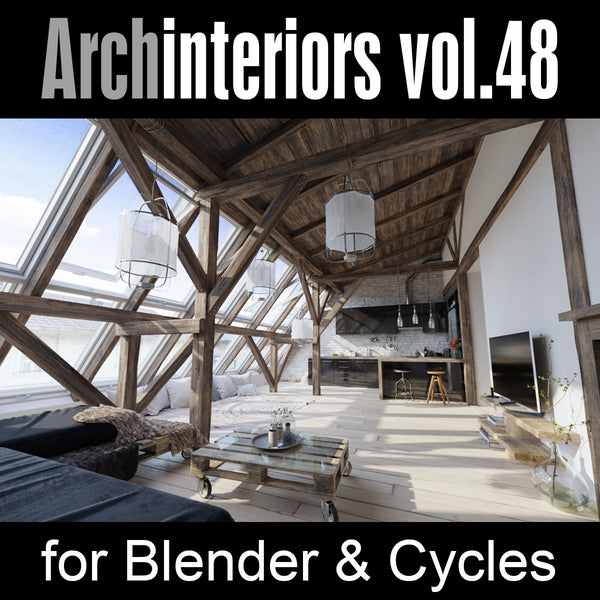 Archinteriors vol. 48 for Blender (Evermotion 3D Models) - Architectural Visualizations