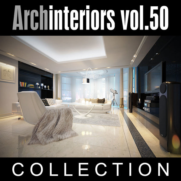 Archinteriors vol. 50 (Evermotion 3D Model Scene Set)