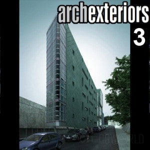 Archexteriors for C4D vol. 3 (Evermotion 3D Models) - Architectural Visualizations