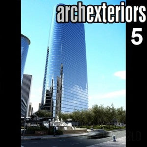 Archexteriors for C4D vol. 5 (Evermotion 3D Models) - Architectural Visualizations