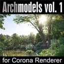 Archmodels for Corona vol.1 (Evermotion 3D Models) - Architectural Visualizations