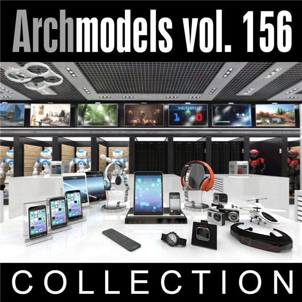 Archmodels vol. 156 (Evermotion 3D Models) - Architectural Visualizations