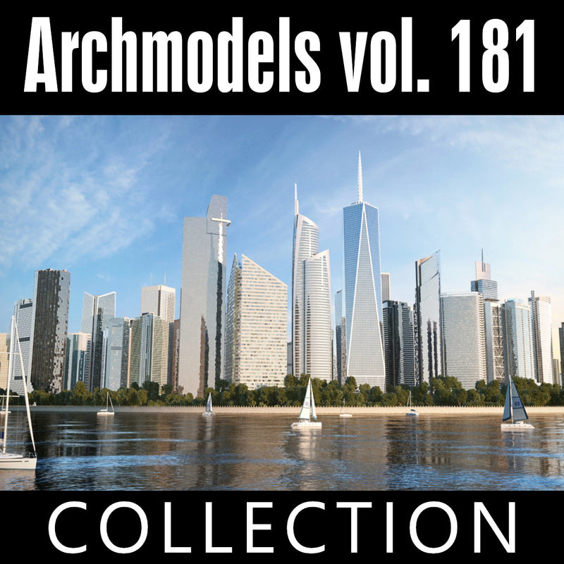 Archmodels vol. 181 (Evermotion 3D Models) - Architectural Visualizations