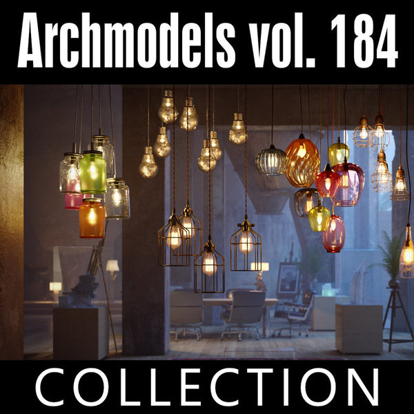 Archmodels vol. 184 (Evermotion 3D Models) - Architectural Visualizations