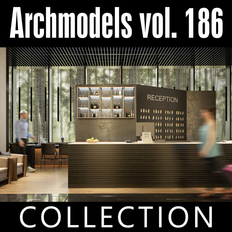 Archmodels vol. 186 (Evermotion 3D Models) - Architectural Visualizations