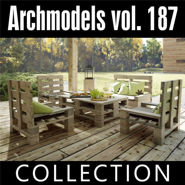 Archmodels vol. 187 (Evermotion 3D Models) - Architectural Visualizations
