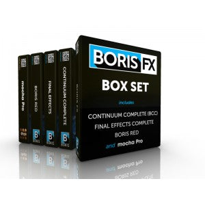 Boris Box Set (includes Avid/Adobe/Apple/Resolve)