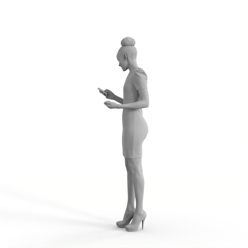 Professiona Woman | bman0345hd2o01p01s | Ready-Posed 3D Human Model (Woman)