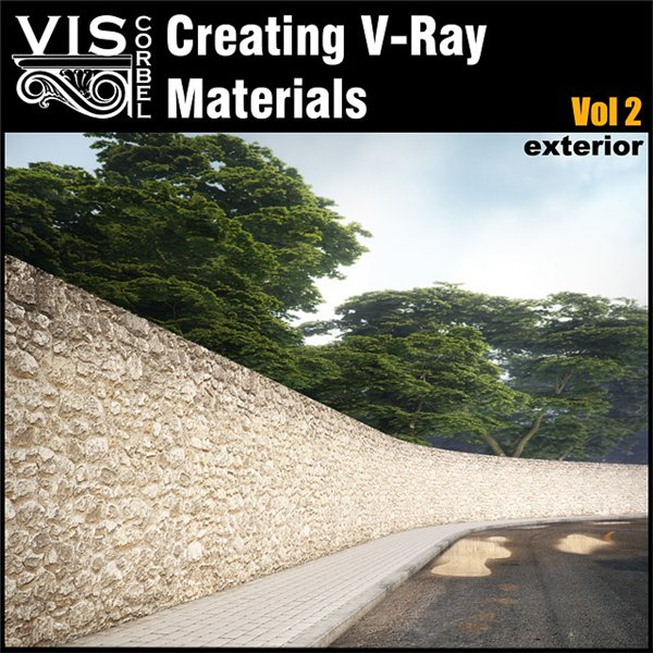 Creating V-Ray materials Vol 2
