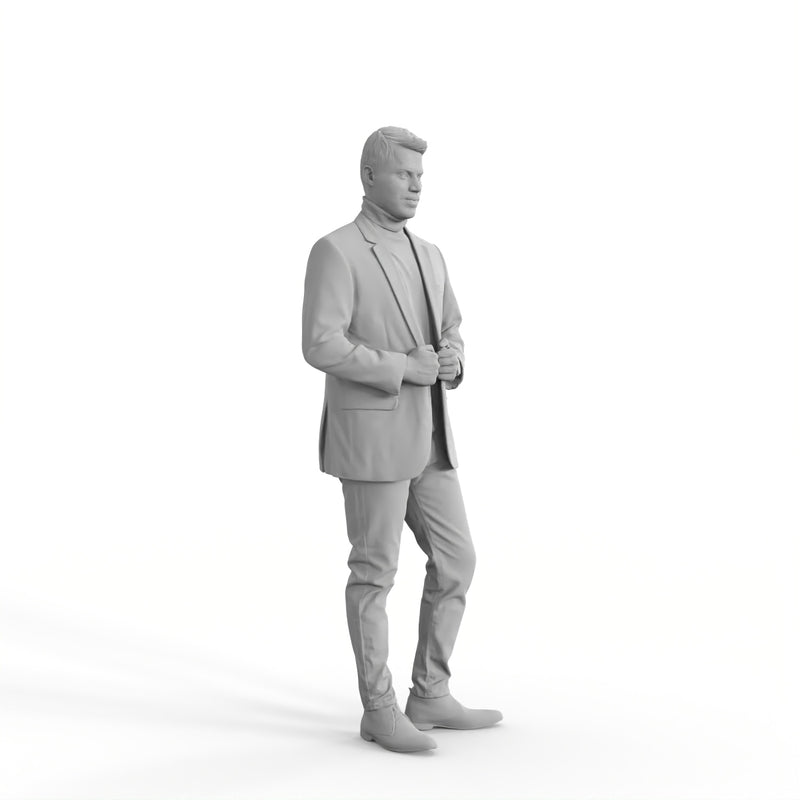 Formal Man | eman0315hd2o01p01s | Ready-Posed 3D Human Model (Man)