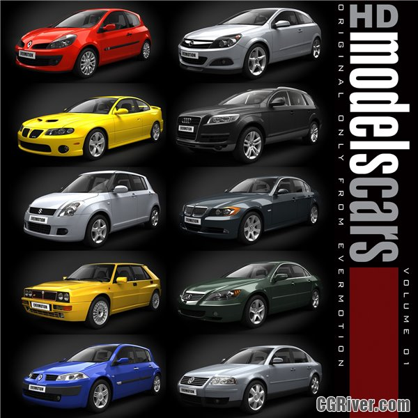 HDModels Cars Volume 1