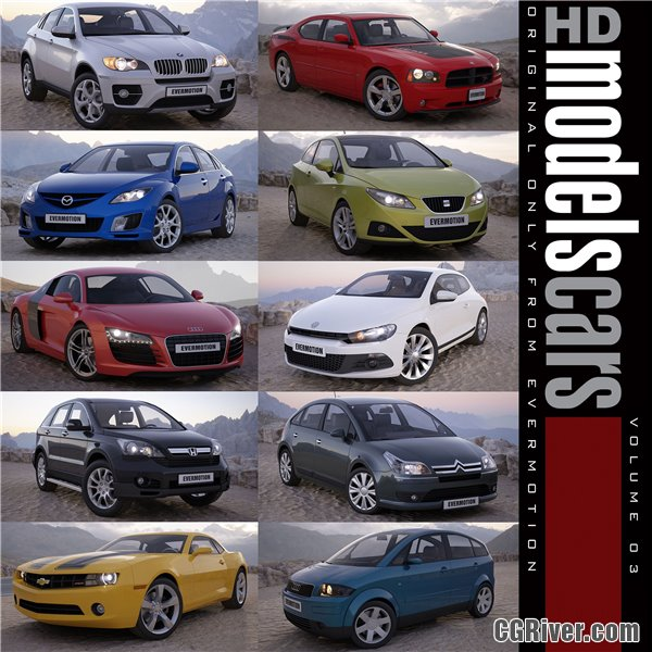 HDModels Cars Volume 3