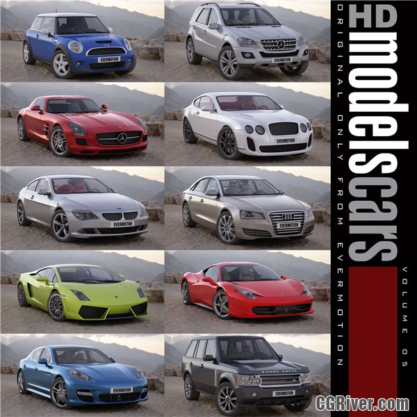 HDModels Cars Volume 4