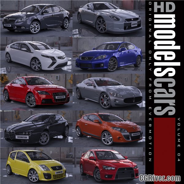 HDModels Cars Volume 5