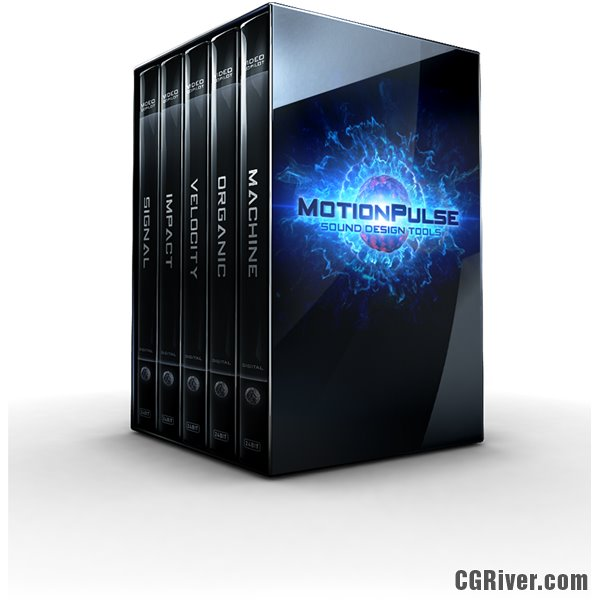 MotionPulse BlackBox by Video Copilot - Sound Design Tools for Motion Graphics (Over 1250 Sound FX)