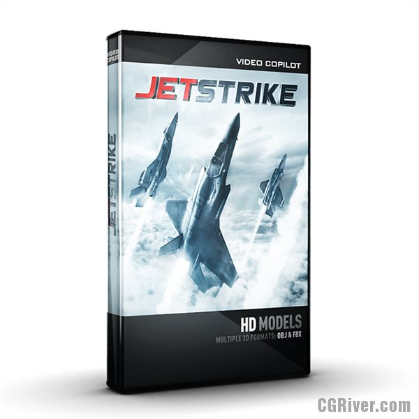 JetStrike Model Pack for Element 3D - High Quality Aircrafts, Military & Commercial Jets from Video Copilot!