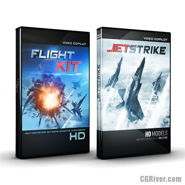Sky Pack Bundle: JetStrike and Flight Kit from Video Copilot