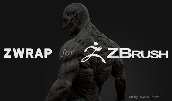 ZWRAP Plugin for ZBrush Indie Nodelocked 1 Year Subscription