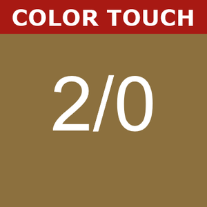 Buy Wella Color Touch 2/0 Black at Wholesale Hair Colour