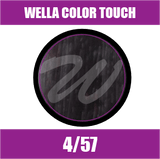 Buy Wella Color Touch 4/57 Medium Mahogany Brunette Brown at Wholesale Hair Colour