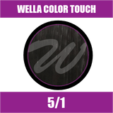 Buy Wella Color Touch 5/1 Light Ash Brown at Wholesale Hair Colour
