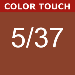 Buy Wella Color Touch 5/37 Light Gold Brunette Brown at Wholesale Hair Colour