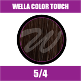 Buy Wella Color Touch 5/4 Light Red Brown at Wholesale Hair Colour