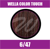 Buy Wella Color Touch 6/47 Dark Red Brunette Blonde at Wholesale Hair Colour