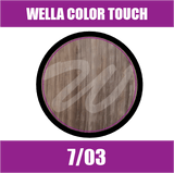 Buy Wella Color Touch 7/03 Medium Natural Golden Blonde at Wholesale Hair Colour