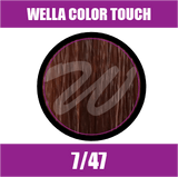 Buy Wella Color Touch 7/47 Medium Red Brunette Blonde at Wholesale Hair Colour
