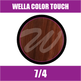 Buy Wella Color Touch 7/4 Medium Red Blonde at Wholesale Hair Colour