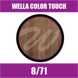 Buy Wella Color Touch 8/71 Light Brunette Ash Blonde at Wholesale Hair Colour